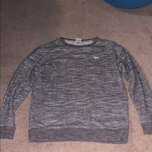 Gray crewneck from Pink